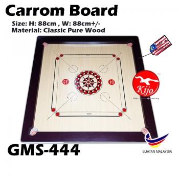 Premium AA Carrom Board / Papan Carrom Board Karambol GMS-444