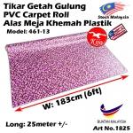 Alas lantai / Tikar Getah Gulung / PVC Carpet Roll / Alas Meja Khemah Plastik 1825 461-13