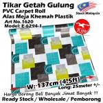 Alas lantai / Tikar Getah Gulung / PVC Carpet Roll / Alas Meja Khemah Plastik 1620 E-6294-1