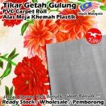 Alas lantai / Tikar Getah Gulung / PVC Carpet Roll / Alas Meja Khemah Plastik 1620 D6299-2