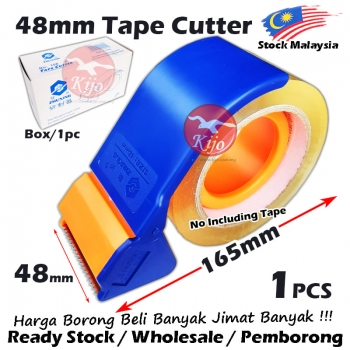 Tape Dispenser Sealer Cutter 2inch/48mm OPP Tape Dispensor Pemegang Tape 8646