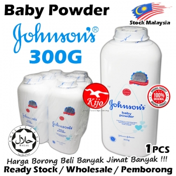 Johnson's Baby Powder 300g #9639