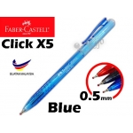 Faber Castell Click X5 Ball Pen 0.5mm 1425