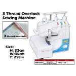 OKM-620F Okurma 3 Thread Overlock Sewing Machine