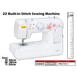 OKM-889 Okurma 22 Built-in Stitch Sewing Machine