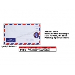 1469 3x6 White Air Mail Envelope