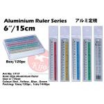 1717 15cm Kijo Aluminium Ruler