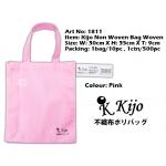 1811 Kijo Non Woven Bag Woven-Pink