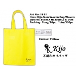 1811 Kijo Non Woven Bag Woven-Yellow