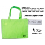 1812 Kijo Non Woven Bag Woven-Apple Green