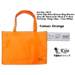 1812 Kijo Non Woven Bag Woven-Orange