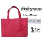 1812 Kijo Non Woven Bag Woven-Maroon