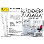 1824 Kijo 0.04mm 11-hole Clear Sheets Protector