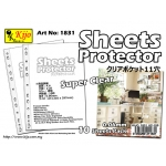 1831 Kijo 0.06mm 11-hole Clear Sheets Protector