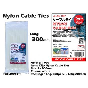1907 Kijo Nylon Cable Ties - 300mm