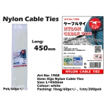 1908 Kijo Nylon Cable Ties - 450mm