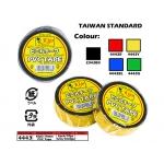 4443 Kijo 19mm PVC Tape Yellow