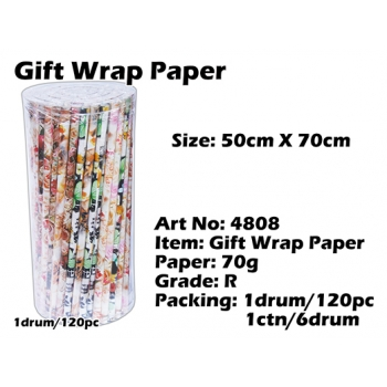 4808 Gift Wrap Paper