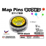 4944-black KIJO Black Map Pins
