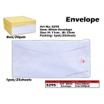 5295 4x9 White Envelope