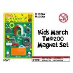 6408 Kids Tm-200 Magnet Set