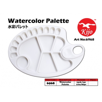 6968 KIJO Watercolor Palette