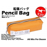 7356 Kijo Pencil Bag - Orange