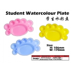 7440 Fancy Crab Student Watercolour Plate