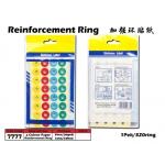 7777 Kijo 4 Colour Paper Reinforcement Ring