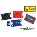 7825 Kijo PVC Name Card Holder - Black