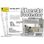 8771 Kijo 0.04mm 11-hole Clear Sheets Protector
