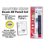 8939 Master King Exam 2B Pencil Set