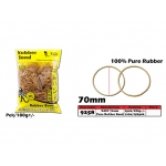 9258 KIJO 70mm 100% Pure Rubber Band