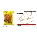 9259 KIJO 180mm 100% Pure Rubber Band