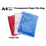 9382 Transparent Rope File Bag