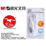 ACT56003 M&G Correction Tape Transparent