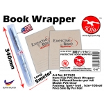 BC7520 Kijo PVC Book Wrapper 340mmX5meter PVC Clear