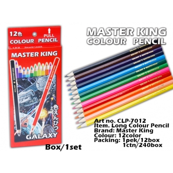 CLP-7012 Master King Long Colour Pencil