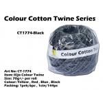 CT1774-Kijo Colour Twine Black