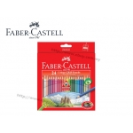 Faber Castell 24 Colour Grip Pencil
