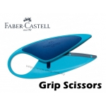 Faber Castell Grip Scissors Blue