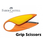 Faber Castell Grip Scissors Orange