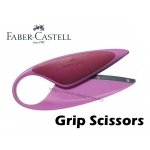 Faber Castell Grip Scissors Purple