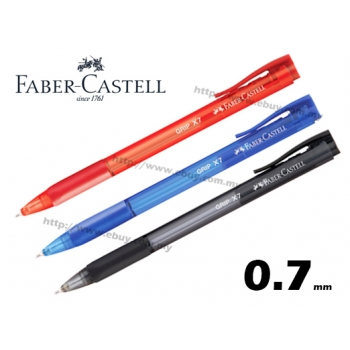 Faber Castell Grip X7 Ball Pen Red