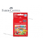 Faber Castell Wax Crayon 18 colours