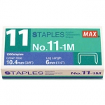 Max No: 11-1M Staples