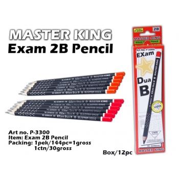 P-3300 Master King Exam 2B Pencil
