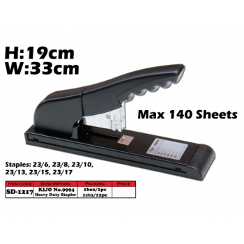 SD-1217 KIJO No.9994 Heavy Duty Stapler