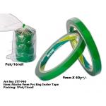 STT-940 Nissho 9mm PVC Bag Sealer Tape - Green