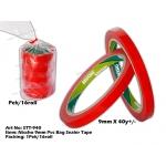 STT-940 Nissho 9mm PVC Bag Sealer Tape - Red